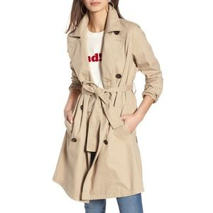 NWT Madewell Abroad Trench Coat